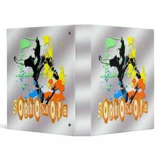 Sophomore - Skateboarding Binder binder