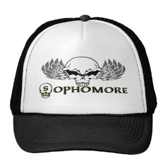 Sophomore - Skull Wings Hats
