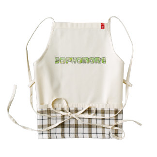 Sophomore Zazzle HEART Apron