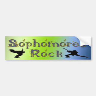 Sophomores Rock - Guitar Players Bumper Sticker