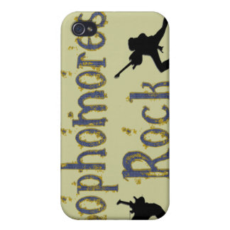 Sophomores Rock - Guitar Players  iPhone 4 Case