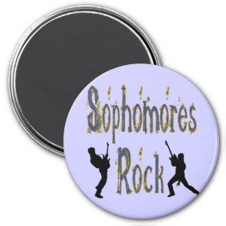 Sophomores Rock - Guitar Players Refrigerator Magnets