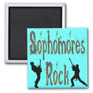 Sophomores Rock - Guitar Players Magnets