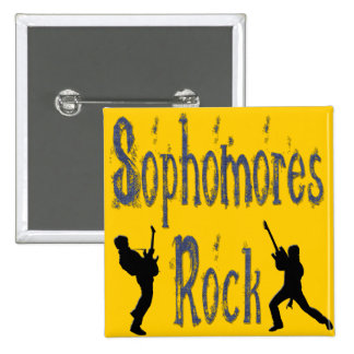 Sophomores Rock - Guitar Players Pins