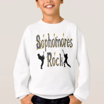 Sophomores Rock - Guitar Players Sweatshirt