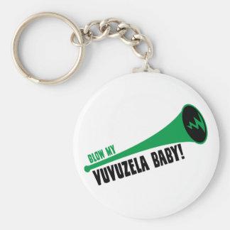 Sople a mi bebé de Vuvuzela Llavero Redondo Tipo Pin