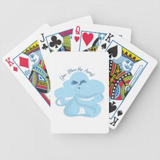 Sópleme ausente cartas de juego