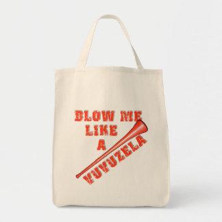 Sópleme como las camisetas divertidas de un bolsa tela para la compra