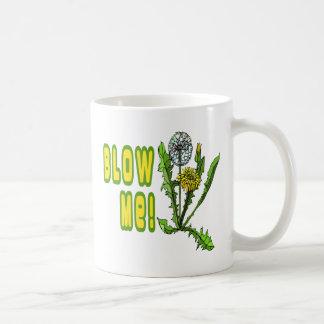 Sópleme diente de león taza de café