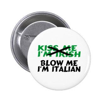 Sópleme el italiano Im Pin Redondo 5 Cm