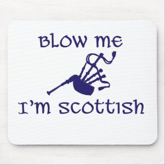 Sópleme que soy escocés mouse pads