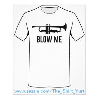 "Sópleme trompeta folleto 4.5"" x 5.6"""