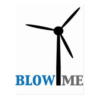 sópleme turbina de viento postal