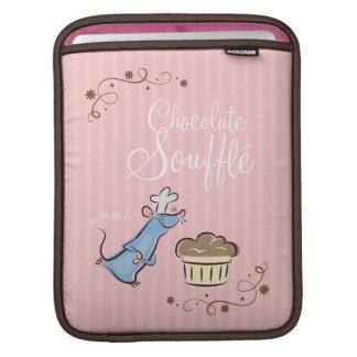 Soplo del chocolate funda para iPads