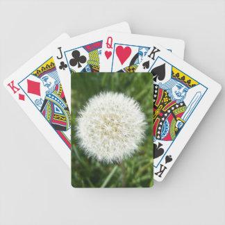 soplo del diente de león baraja cartas de poker