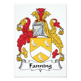 Soplo del escudo de la familia anuncios