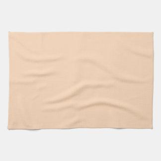 Soplo del melocotón toalla de mano