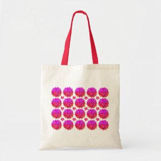 Soplos rosados de la margarita bolsa
