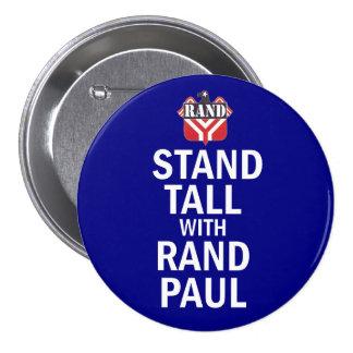 Soporte alto con el rand Paul Pin Redondo De 3 Pulgadas