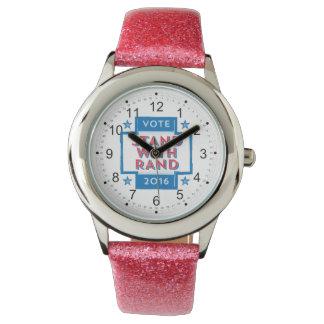 Soporte con el rand 2016 relojes de pulsera