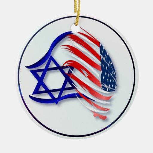 Soporte con los ornamentos de Israel Ornatos