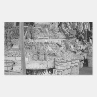Soporte de fruta francés del mercado junio rectangular altavoz