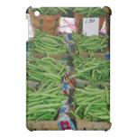 Soporte de la granja de la haba verde