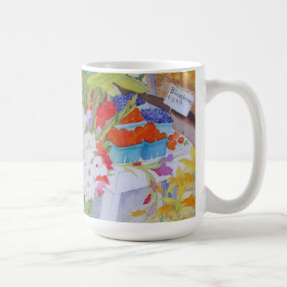 Soporte de la granja de las flores de la taza