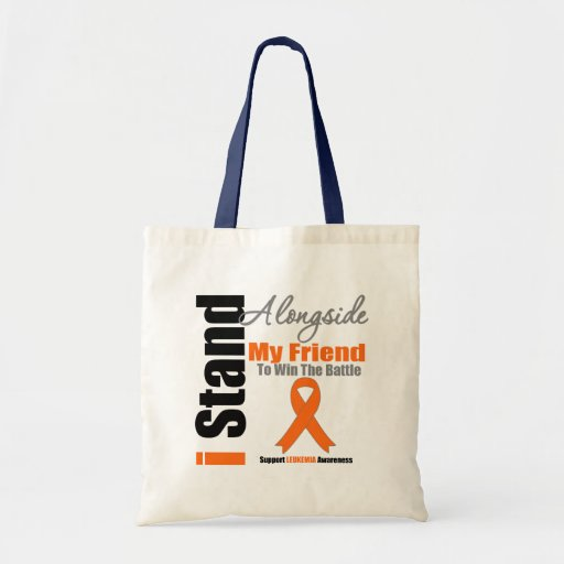 Soporte de la leucemia I junto a mi amigo Bolsa De Mano