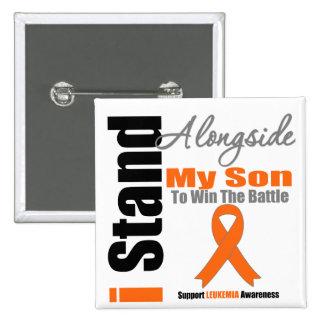 Soporte de la leucemia I junto a mi hijo Pin
