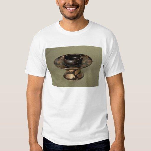 """Soporte de la taza con la decoración de """"Nashiji"""" Camisas"""