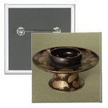 """Soporte de la taza con la decoración de """"Nashiji"""" Pin Cuadrado"""