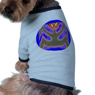 Soporte de la vela - bebidas espirituosas cariñosa camiseta con mangas para perro