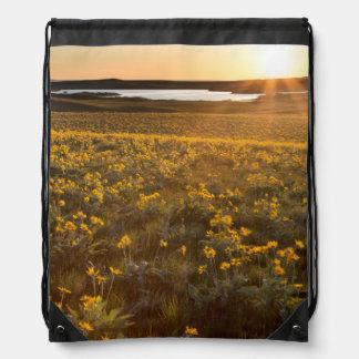 Soporte de los Wildflowers de Arrowleaf Balsamroot Mochilas