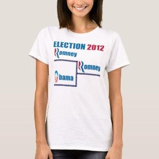 Soporte de Romney Obama 2012 Playera