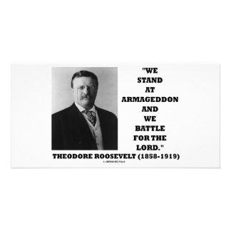 Soporte de Theodore Roosevelt en el señor de la Tarjetas Fotograficas