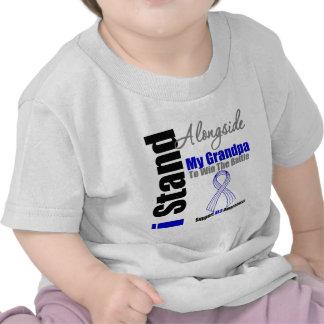 Soporte del ALS I junto a mi abuelo Camisetas