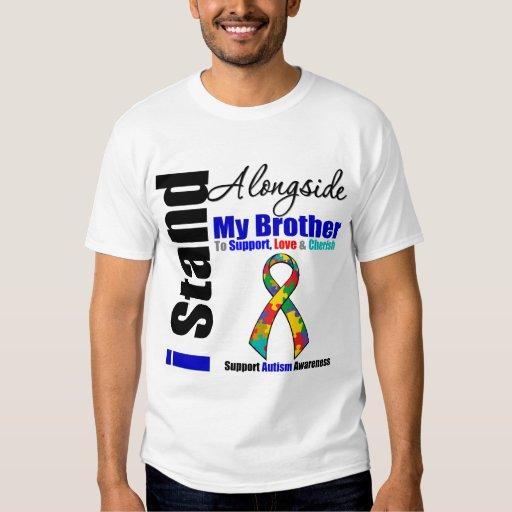 Soporte del autismo I junto a mi Brother Camisas