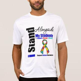 Soporte del autismo I junto a mis estudiantes T-shirts
