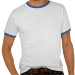Soporte del barrilete que carga humor para hombre camisetas