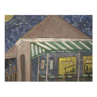 Soporte del café de New Orleans Tarjetas Postales