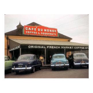 Soporte del café tarjeta de New Orleans Postales