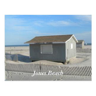 Soporte del parasol de playa de Jones Tarjetas Postales