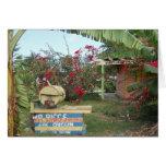 Soporte del pollo del tirón en Negril, Jamaica 201 Felicitaciones