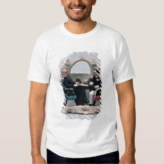 Soporte del reloj en el estilo de un carenado camisas