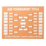 Soporte del torneo de los deportes blocs