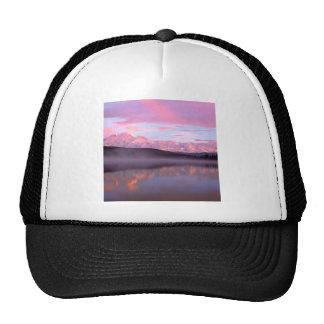 Soporte Denali del lago wonder de la puesta del so Gorra