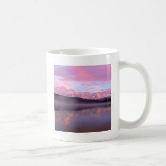 Soporte Denali del lago wonder de la puesta del Taza Clásica