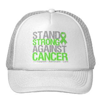 Soporte fuerte contra cáncer del linfoma gorras de camionero