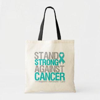Soporte fuerte contra cáncer ovárico bolsas